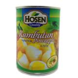 Hosen Rambutan Stuffed With Pineapple 565g