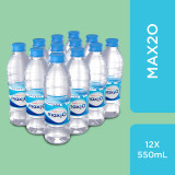 Max2O Purify Drinking Water 550ml*12