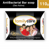 Family Care Bar Soap Deo Active (Black)110g