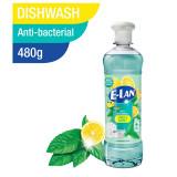 E-LAN Dishwashing Liquid Anti Bacteria Lemon and Mint  480g