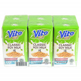 Vito Plain Soy Milk 125ML*6pcs