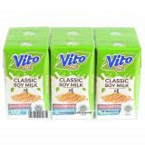 Vito Plain Soy Milk 125ML*6pcs