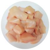 Chicken Cube Boneless Skinless 0.5viss