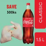 CP Whole Chicken Leg With Skin 0.4-0.45viss + Coca Cola Classic 1.5Lit ( Bundle Sale)